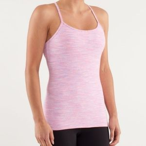 Lululemon Power Y Tank Top Pink Wee Are From Space